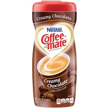 COFFEE-MATE Creamy Chocolate Powder Coffee Creamer 15 oz. Canister