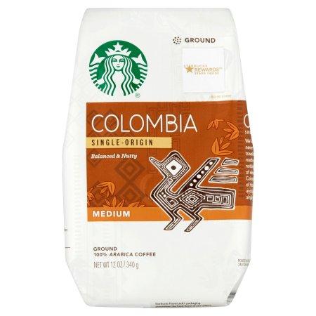 Colombia Single-Origin Balanced & Nutty Medium Coffee 12 oz. Package