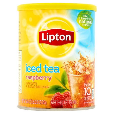 Lipton Raspberry Iced Tea Mix, 10 qt