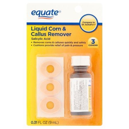 Equate Liquid Corn & Callus Remover, 0.31 fl oz