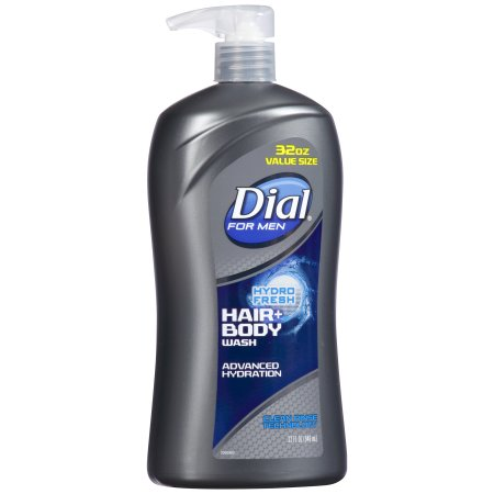 Dial® For Men Hydro Fresh Hair+ Body Wash 32 fl. oz. Bottle