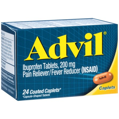 Advil® Pain Reliever/Fever Reducer (Ibuprofen) 200mg 24 ct Box