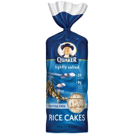 Quaker® Lightly Salted Rice Cakes 4.47 oz. Bag