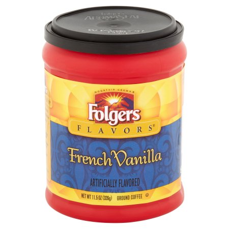 Folgers Flavors French Vanilla Ground Coffee 11.5oz