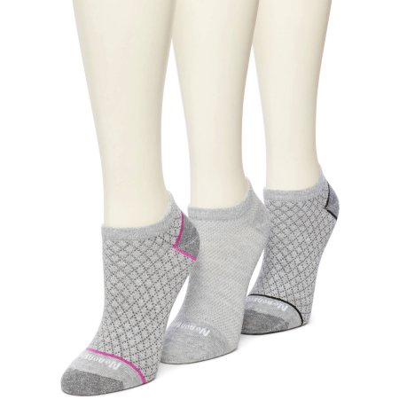 No nonsense Women's BREATHE Uncushioned No Show Socks - 3 Pack