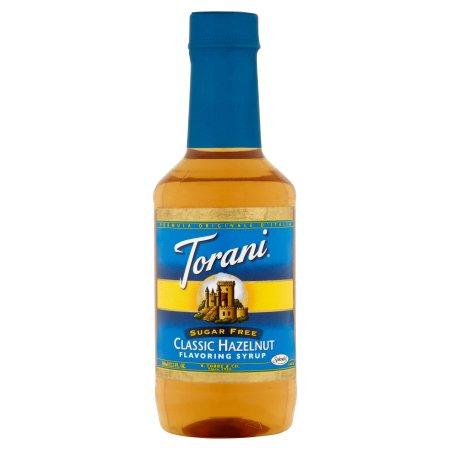 Torani Flavoring Syrup Classic Hazelnut Sugar Free, 12.2 FL OZ