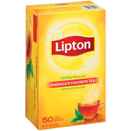 Lipton America's Favorite Tea Black Tea Bags, 50 ct