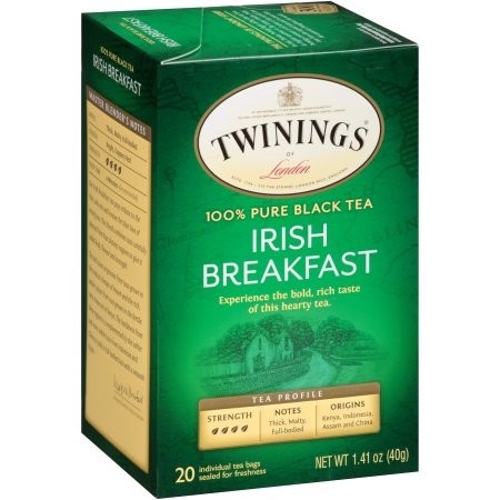 Twinings Of London Irish Breakfast Tea Bags, 20 ct