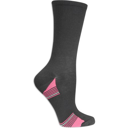 Fruit of the Loom Womens Value Pack Crew Socks, 6 Pairs