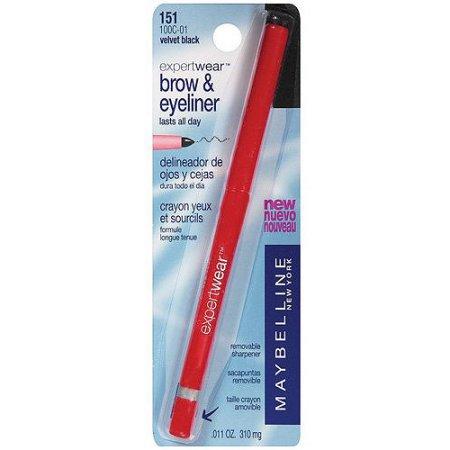 Maybelline Expert Wear Brow & Eyeliner, .011 Oz