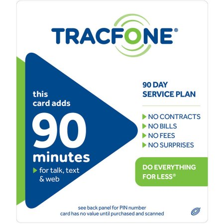 TracFone 90-Minute/90 Access Days