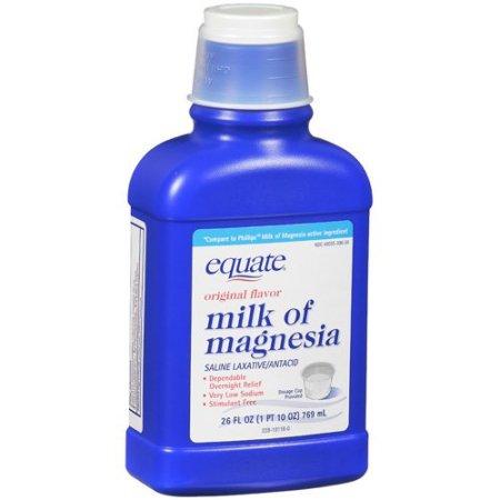 Equate: Original Flavor Milk Of Magnesia, 26 Oz