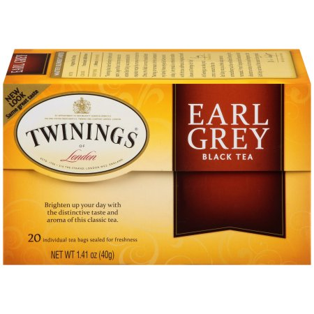 Twinings of London Classics Earl Grey Tea Packets - 21 CT
