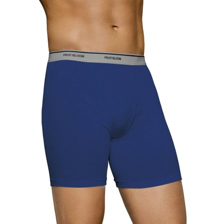Fruit of the Loom Men's Assorted Color Boxer Briefs, 5-Pack