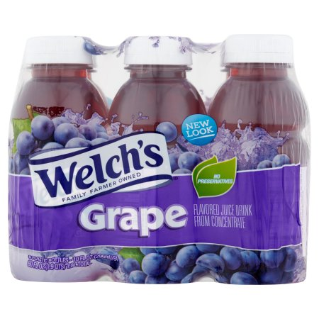 Welch's Juice Drink Grape - 6 CT