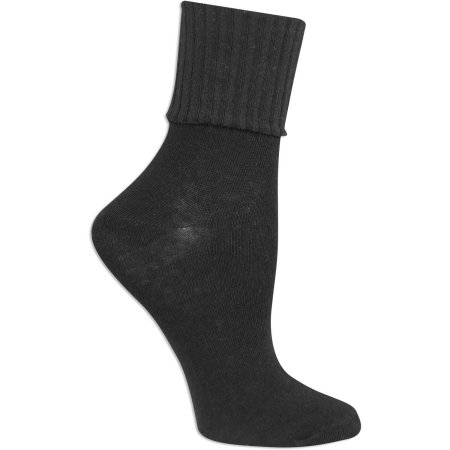 No Boundaries Womens Turn Cuff Socks 3 Pair