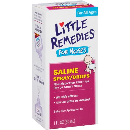 Little Remedies for Noses Saline Spray/Drops, 1 fl oz