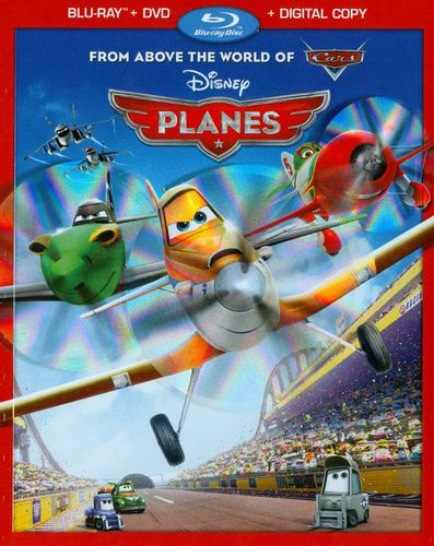 Planes [2 Discs] [Includes Digital Copy] [Blu-ray/DVD] [2013]