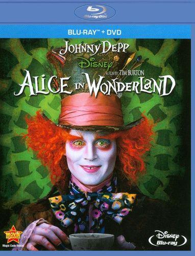 Alice in Wonderland [Blu-Ray/DVD] [Blu-ray/DVD] [2010]