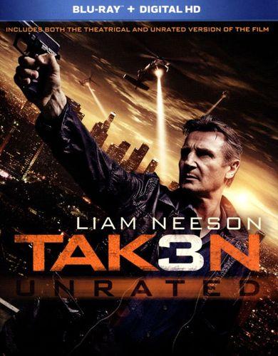 Taken 3 [Includes Digital Copy] [Blu-ray] [2015]