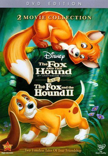 The Fox and the Hound/The Fox and the Hound II [30th Anniversary Edition] [2 Discs] [DVD]