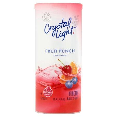 Crystal Light Fruit Punch Drink Mix Pitcher Packs, 2.04 OZ (57g)