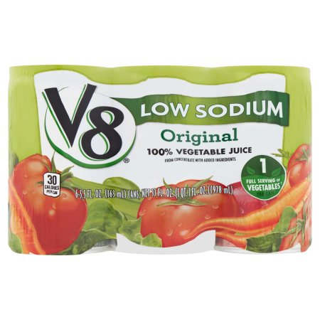 V8 Original 100% Vegetable Juice 6 x 5.5fl.oz (33fl.oz)