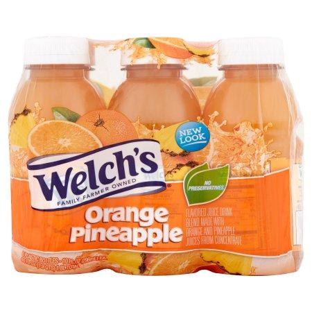 Welch's Single Serve Orange Pineapple Juice, 6 Ct/60 fl oz