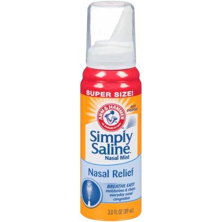 Arm & Hammer™ Simply Saline™ Nasal Relief Nasal Mist 3.0 fl. oz. Can