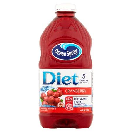 Ocean Spray Diet Cranberry Juice, 64.0 FL OZ