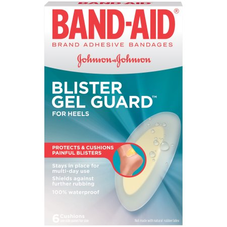 Band-Aid Brand Advanced Protection, Blister Adhesive Bandages, 6 Count
