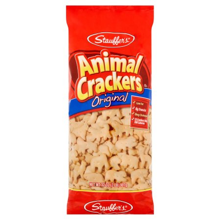 Stauffer's Animal Snack Crackers, 32 oz