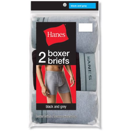 Hanes Men's Boxer Brief 2 Pack