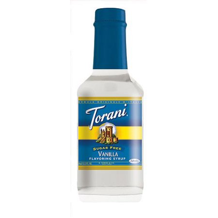 Torani Sugar Free Vanilla Flavoring Syrup, 12.2 fl oz