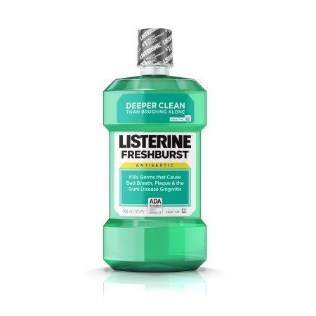 Freshburst Listerine Antiseptic Mouthwash Kills Germs Causing Bad Breath, 500 ml