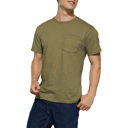 Fruit of the Loom Men's Assorted Pocket T-Shirt, 4-Pack