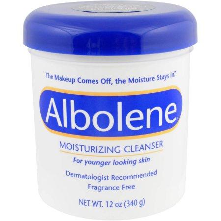 Albolene Moisturizing Cleanser, Fragrance Free 12 oz
