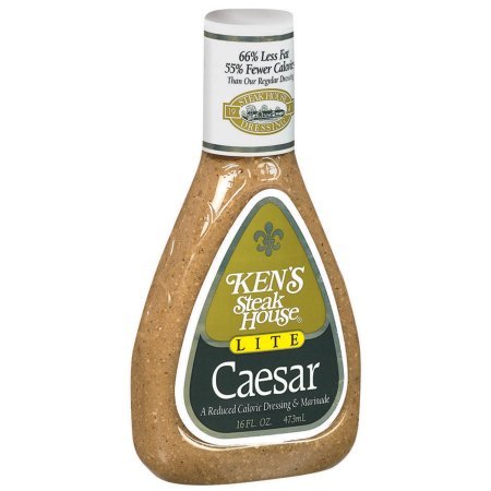 Ken's Steak House Lite Dressing & Marinade Caesar, 16.0 FL OZ