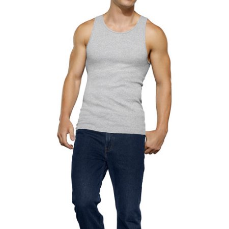 Fruit of the Loom Men's Assorted A-Shirts, 4-Pack