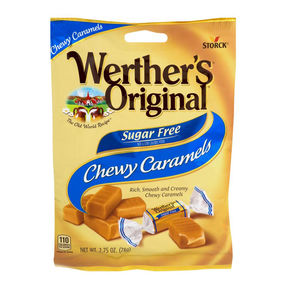 Werther's Original Chewy Caramels Sugar Free, 2.75 OZ