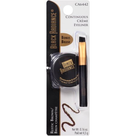 Black Radiance Continuous Creme Eyeliner, CA6442 Rustic Brown, 0.16 oz