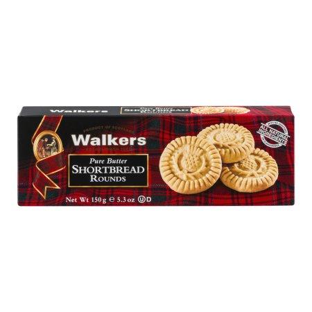 Walkers Pure Butter Shortbread Rounds, 5.3 oz