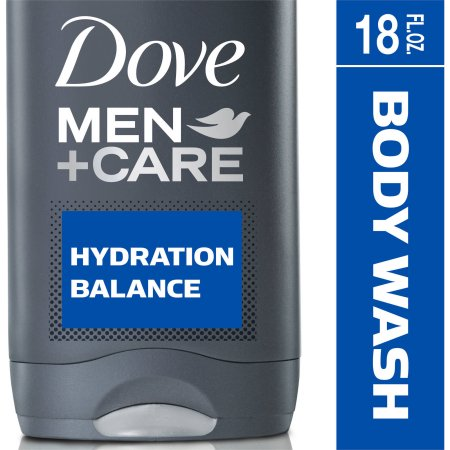 Dove Men+Care Hydration Balance Body and Face Wash, 18 oz