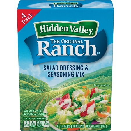 Hidden Valley Original Ranch Salad Dressing ; Seasoning Mix, 4.0 Ounces
