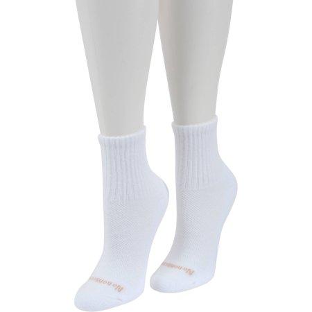 No Nonsense Women's BREATHE Cushion Mini Crew Socks, 3pk
