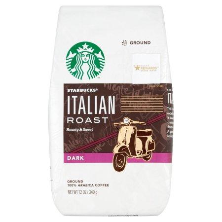 Starbucks® Italian Roast Dark Ground Coffee 12 oz. Bag