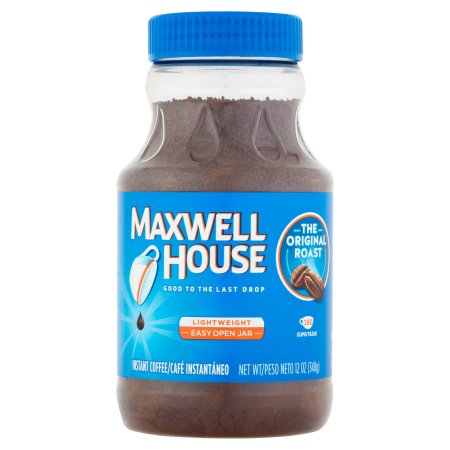 Maxwell House Original Roast Instant Coffee, 12 OZ (340g) Jar