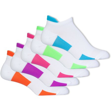Danskin Ultra Comfort Noshow Socks, with Heel Tab Pack of 5