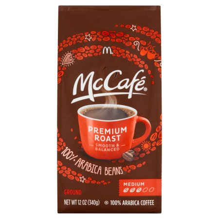 McCafe Premium Medium Roast Ground Coffee, 12 OZ (340g)