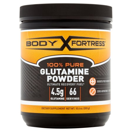 Body Fortress L-Glutamine Powder, 10.6 oz